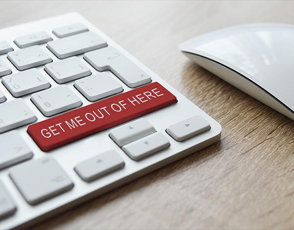 Virtual escape button on keyboard, hire a Virtual CISO