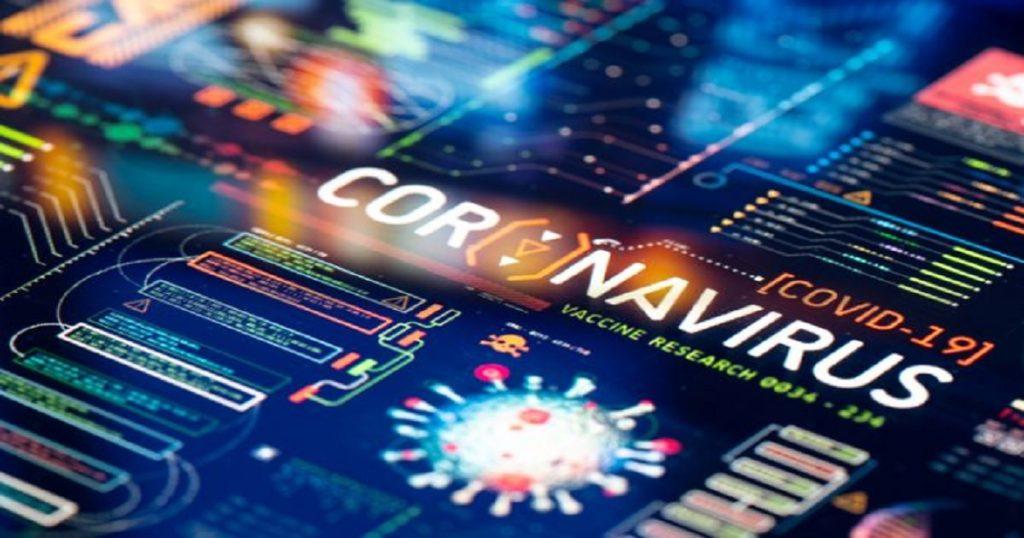 Dashboard displaying coronavirus scams